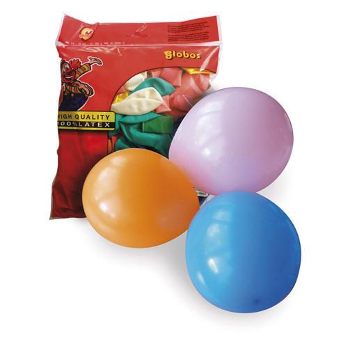 PW INTERNATIONAL Sachet de 100 ballons petit modèle diamètre 25cm photo du produit Principale L