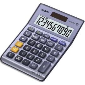 CASIO Calculatrice de bureau 10 chiffres conversion euro MS100TER II photo du produit