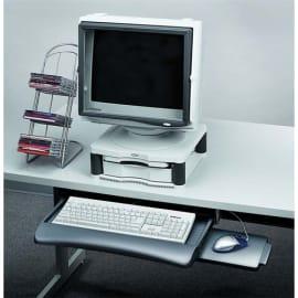 FELLOWES tiroir clavier + tablette souris graphite photo du produit