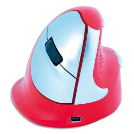 RGOTOOLS Souris ergonomique Rouge sport gaucher RGOHEREDL photo du produit