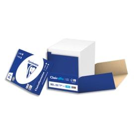 CLAIREFONTAINE Box de 2500 feuilles papier Blanc CLAIRALFA 80 grammes format A4 1981 photo du produit