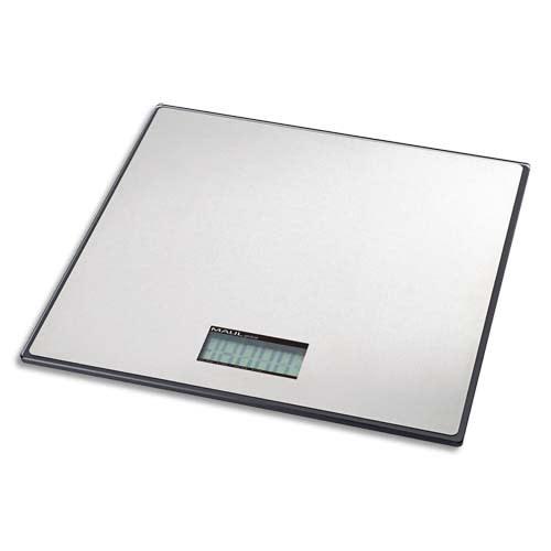 MAUL Pèse paquet MAULglobal forme très plate 50 kg portée minimum 60 g - Dimensions L32,2 x H3 x P32 cm photo du produit Principale L