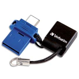 VERBATIM Clé USB 3.0 Store'N'Go Type C Dual 64Go 49967 photo du produit