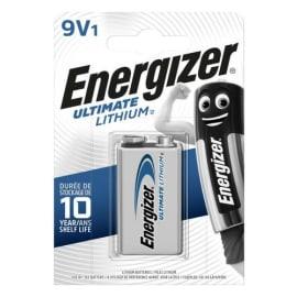 ENERGIZER Blister 1 pile LITHIUM 9V 6LR61 Ultimate lithium 7638900332872 photo du produit