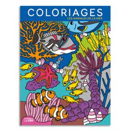 LITO DIFFUSION Livre de coloriage 64 pages 205x270, thème les fonds marins photo du produit