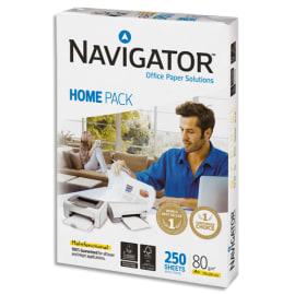 NAVIGATOR Ramette 250 feuilles papier extra Blanc HomePack A4 80G CIE 169 photo du produit