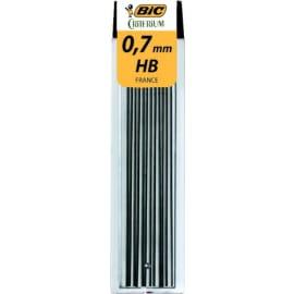 BIC Etui de 12 mines Hi-polymer tous usages 0,7 mm HB CONTE 7507 photo du produit