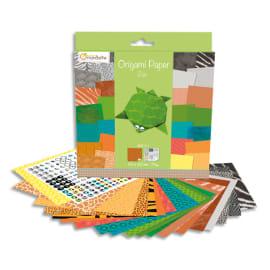 MAILDOR Origami Paper Zoo, 20x20 cm, 60F, 70g photo du produit
