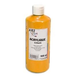 ART PLUS Acrylique brillante 500ml Orange photo du produit