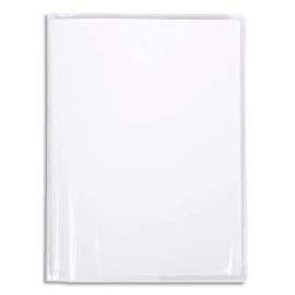 CALLIGRAPHE Protège-cahier Cristal 12/100° 17x22cm avec porte-étiquette. Transparent photo du produit