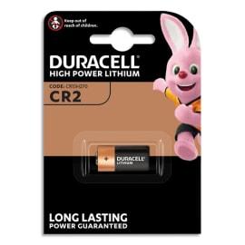 DURACELL Blister d'1 pile CR2 Utlra Lithium Duralock pour appareils photos 5000394020306 photo du produit