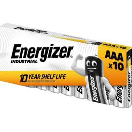 ENERGIZER Blister de 10 piles Indus AAA LR03 DP10/120 7638900361063 photo du produit