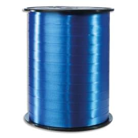 CLAIREFONTAINE Bobine bolduc de comptoir 500x0,7m. Coloris Bleu France lisse photo du produit