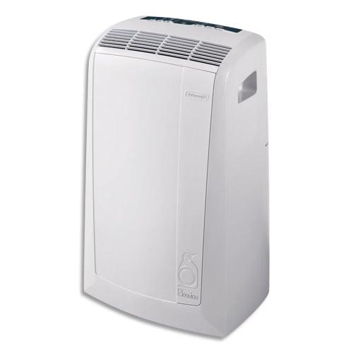 DELONGHI Climatiseur mobile Blanc PAC N77 2400W ventilateur déshumidificateur, gaz R290 L44,9xH75xP39,5cm photo du produit Principale L