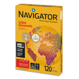 NAVIGATOR Ramette 250 feuilles papier extra Blanc Navigator Colour Document A4 120G CIE 169 photo du produit