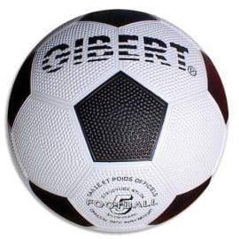 FIRST LOISIRS Ballon football sport, caoutchouc sur carcasse Nylon, surface grainée, taille 5 photo du produit
