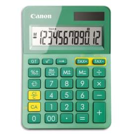 CANON Calculatrice de bureau 12 chiffres LS-123K-MTQ Turquoise 9490B015 photo du produit
