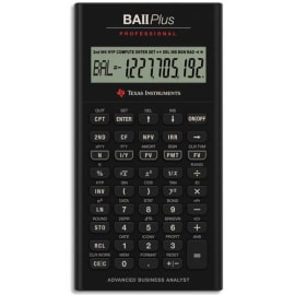 TEXAS INSTRUMENTS Calculatrice financière BA II Plus Pro photo du produit