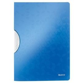 LEITZ Chemise à clip COLORCLIP WOW en polypropylène opaque 5/10eme. Coloris bleu photo du produit