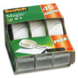SCOTCH Lot spécial CADDY PACK 2 (+1 gratuit) dévidoir adhésif Scotch® Magic™ 19 mm x 7,5 m photo du produit
