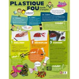 OZ INTERNATIONAL Sachet 30 feuilles plastique Fou A4 assorties cristal transparent Jaune Rouge Vert Noir photo du produit