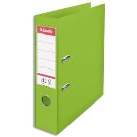 ESSELTE Classeur à levier N°1 POWER en polypropylène, dos 75mm, coloris VIVIDA Vert photo du produit