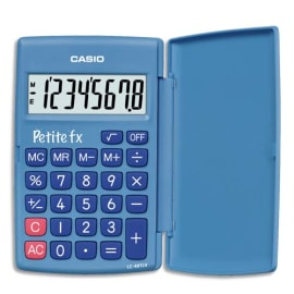 CASIO Calculatrice scientifique petite FX Bleu CSBTSPFXB photo du produit
