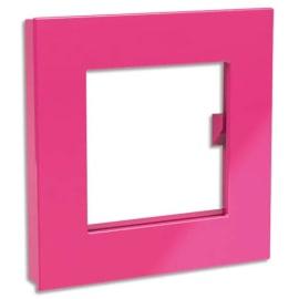 DAHLE Aimant Mega Magnet XL format 75 x 75 mm. Carré Rose photo du produit