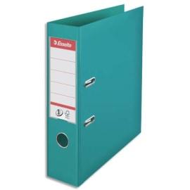 ESSELTE Classeur à levier N°1 POWER en polypropylène, dos 75mm, coloris Turquoise photo du produit