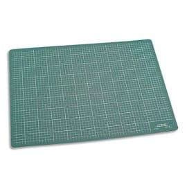 WONDAY Plaque de découpe verte 900x600x3mm. Résistante à la coupe, surface quadrillée photo du produit
