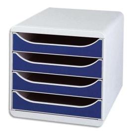 EXACOMPTA Module de classement Big box Gris/Bleu photo du produit