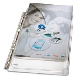 ESSELTE Sachet de 3 pochettes à soufflet avec bande de perforation renforcée métal photo du produit