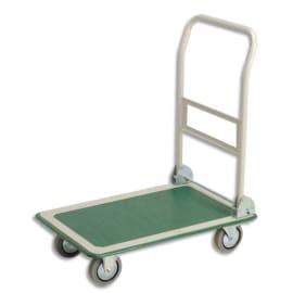 WONDAY Chariot pliable charge utile 300 kg diemensions 60,8x90,7x85 cm photo du produit