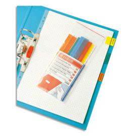 ESSELTE Sachet de 5 cavaliers auto-adhésifs coloris assortis, en PVC photo du produit