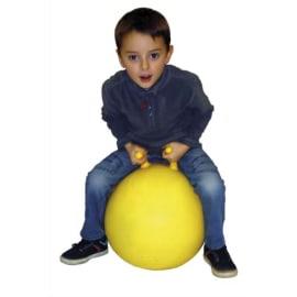 Ballon sauteur diamètre 45 cm avec 2 poignées séparées, regonflable photo du produit