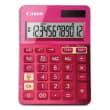 CANON Calculatrice de bureau 12 chiffres LS-123K Rose 9490B003AA photo du produit