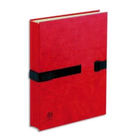 ARIANEX Chemise extensible Sanglex, 10 compartiments intérieurs, recouverte de balacron Rouge photo du produit