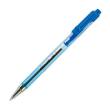 PILOT Stylo bille rechargeable pointe fine rétractable encre Bleue corps plastique cristal BPS-MATIC photo du produit