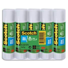 SCOTCH Lot de 5 bâtons de colle économique de 21 grammes photo du produit