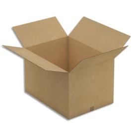 Paquet de 5 caisses américaines en carton brun double cannelure - Dim. : L78 x H40 x P58 cm photo du produit