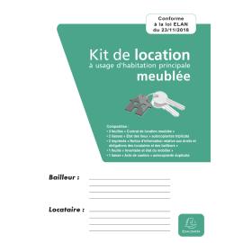 EXACOMPTA Kit dossier location meublée, contrat + état des lieux + notice + inventaire + acte de caution photo du produit