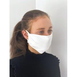 Masque de protection textile. Lavable 60°. Réutilisable 20 fois. Conforme ANSM catégorie 2 photo du produit