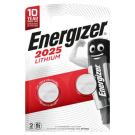 ENERGIZER Blister 2 piles CR2025 7638900248333 photo du produit