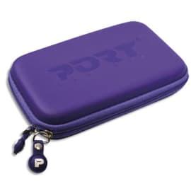 PORT DESIGNS Housse renforcée COLORADO Violette pour disque dur 2,5'' 400137 photo du produit