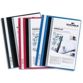 DURABLE Chemise de présentation Duraplus à lamelle A4 - personnalisable + gouttière de passage - Assortis photo du produit