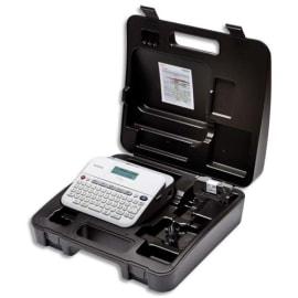 BROTHER Etiqueteuse bureautique professionnelle PT-D400VP 18mm, coloris Blanc photo du produit