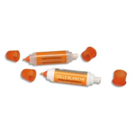 O COLOR Stylo colle Blanche forte 42ml. 1 embout fin et 1 brosse plastique large. Pratique et efficace. photo du produit