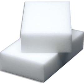 VILEDA Paquet de 12 Gommes nettoyantes en résine de mélamine Miraclean - Dim. L10 x H2,8 x P6 cm Blanc photo du produit