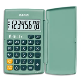 CASIO Calculatrice primaire petite FX Verte LC401GN photo du produit