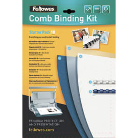 FELLOWES Kit reliure pour 10 dossiers 5371701 photo du produit